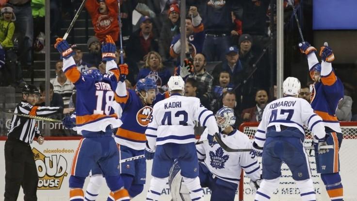NHL: V New Yorku padlo až 11 gólov, Marinčin do hry nezasiahol