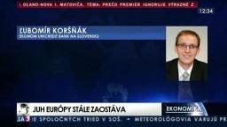 Ľ. Koršňák o ekonomickej situácií v Európe