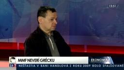 HOSŤ V ŠTÚDIU: V. Baláž o vývoji gréckej ekonomiky