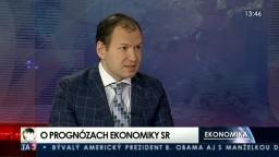 HOSŤ V ŠTÚDIU: S. Pánis o prognózach slovenskej ekonomiky