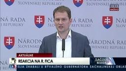 TB I. Matoviča o vyjadreniach premiéra R. Fica v kauze energií