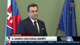 TB A. Danka pri príležitosti odovzdania dekrétov zvoleným členom Rady RTVS
