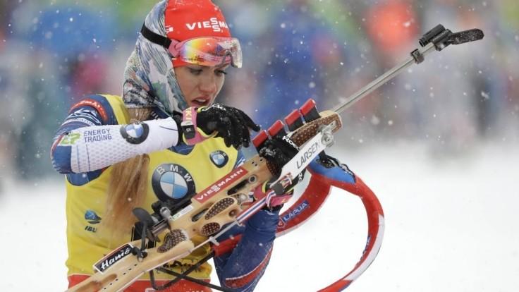 Koukalová získala zlato zo šprintu, Kuzminová v prvej desiatke