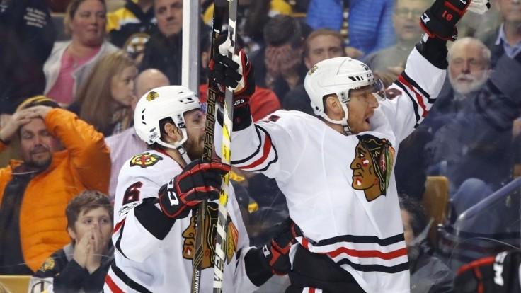 NHL: Hossa strelil dvadsiaty gól, je najlepším strelcom Blackhawks