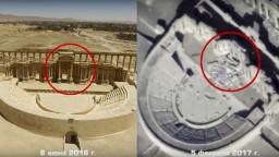 Významné pamiatky v Palmýre demolujú radikáli, armáda zverejnila snímky