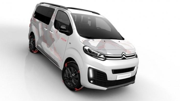 Citroën ukázal vyzdobený SpaceTourer s pohonom 4x4