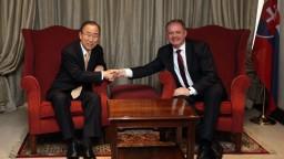 Kiska sa v Afrike stretol s bývalým šéfom OSN, ktorý ocenil Slovensko