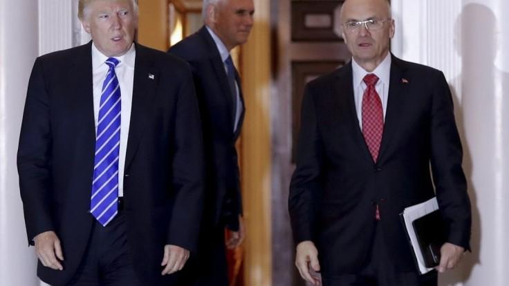 Trumpov nominant na ministra práce sa náhle vzdal kandidatúry