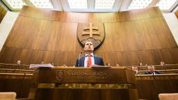 Záznam zo začiatku mimoriadnej schôdze o odvolaní R. Fica