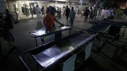 Pakistanskou svätyňou otriasol výbuch, hlásia mnoho mŕtvych