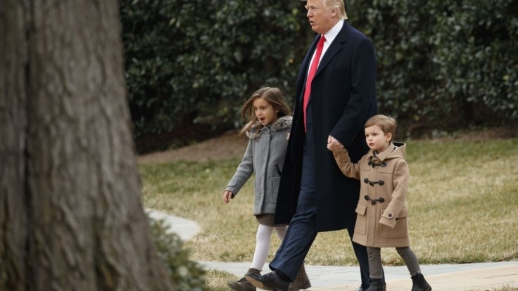 Trumpova rodina dá tajným službám zabrať. Rastú aj náklady