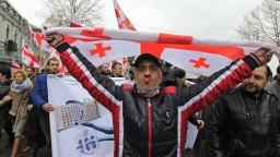 Gruzínci bránili slobodu slova. Protestovali za nezávislú televíziu