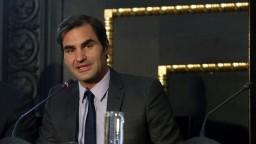 Federer zavítal do Prahy, propagoval exhibičný turnaj