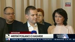 TB bratislavských mestských poslancov o nariadení vo veci hazardu