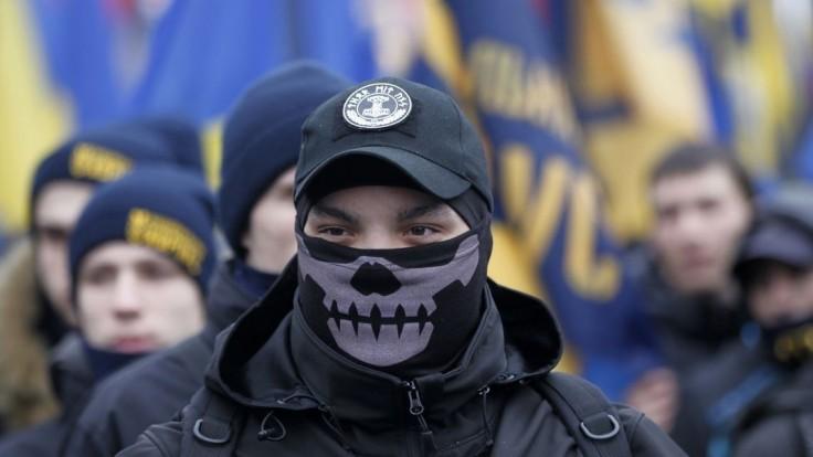 Ukrajinskí nacionalisti demonštrovali proti príliš zmierlivej vláde