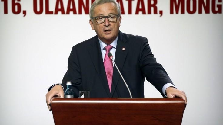 Juncker nechce brzdiť rýchlejších, podporil viacrýchlostnú Úniu