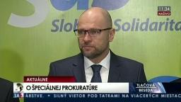 TB predstaviteľov SAS o činnosti špeciálneho prokurátora