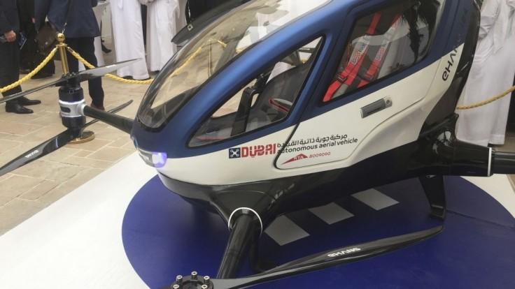 Dron ako lietajúci taxík? Dubaj sa chce vyhnúť dopravným zápcham
