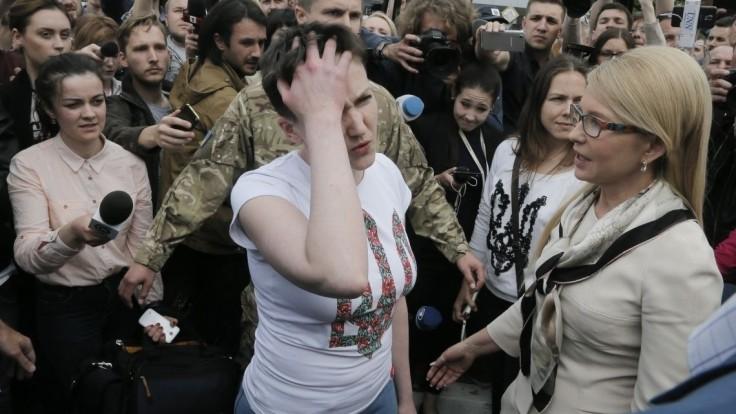 Savčenková pricestovala do Donbasu, žiada prepustenie väzňov