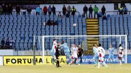 Na Pasienkoch padlo sedem gólov, Slovan zdolal Trenčín