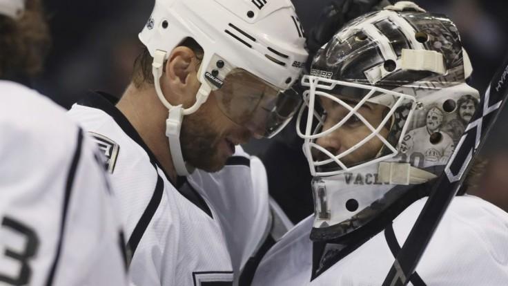 NHL: Gáborík po sérii bez bodu strelil gól, Los Angeles to však nestačilo