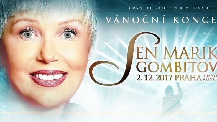 Marika Gombitová zaspieva na jedinom koncerte v roku 2017 v Prahe fanúšikom z Čiech i Slovenska