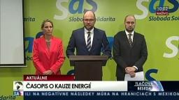 TB predstaviteľov strany SaS o vydaní časopisu ku kauze energií