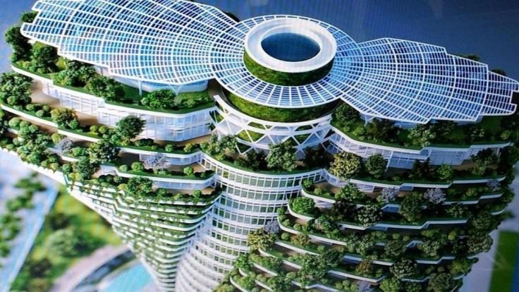 Budúcnosť v architektúre? Na Taiwane rastie ekologický mrakodrap