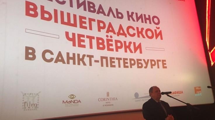 Festival filmov V4 v Petrohrade sa stáva dobrou tradíciou