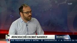 HOSŤ V ŠTÚDIU: Radovan Pala o nových pravidlách osobného bankrotu