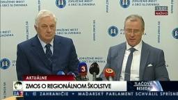 TB predstaviteľov Združenia miest a obcí Slovenska o regionálnom školstve