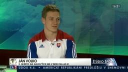 HOSŤ V ŠTÚDIU: J. Volko a N. Bendová o úspechu v halových majstrovstvách Európy v atletike