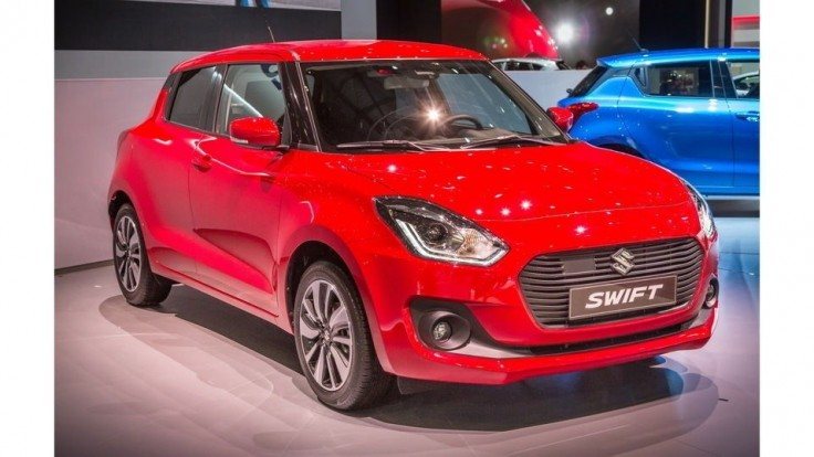 Suzuki Swift hýri emóciami a nízkou hmotnosťou