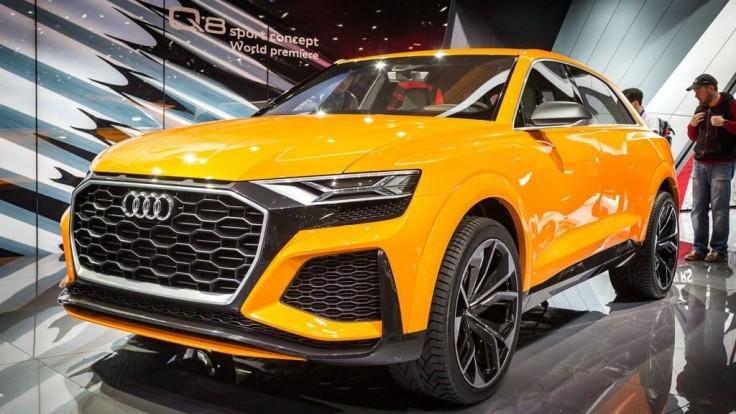Audi Q8 bude novou vlajkovou loďou značky, má dve turbá aj kompresor