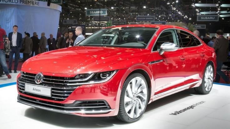 Päťdverové kupé Volkswagen Arteon môže konkurovať aj Audi
