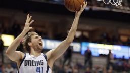 Nowitzki v drese NBA nastrieľal 30-tisíc bodov