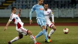 Na trávniku sa opäť stretli vlaňajší finalisti Slovnaft Cupu, vo štvrťfinále podľahol Trenčín Slovanu