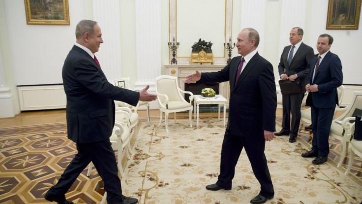 Putin prijal Netanjahua, hovorili o izraelských obavách a terorizme