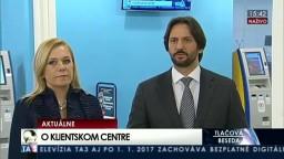 TB R. Kaliňáka, D. Sakovej o Klientskom centre a elektronických občianskych preukazoch
