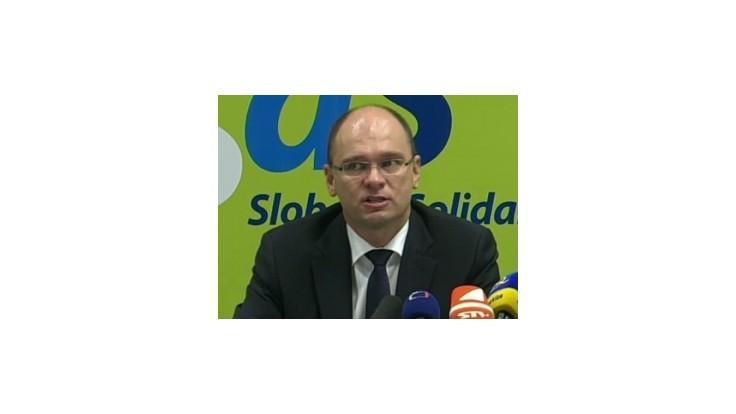 R. Sulík: Postoj SaS k eurovalu nie je politickým kotrmelcom