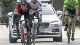Sagan sa prešprintoval na tretie miesto druhej etapy Tirreno-Adriatico