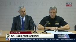 TB prezidenta policajného zboru T. Gašpara a riaditeľa NAKA P. Hraška