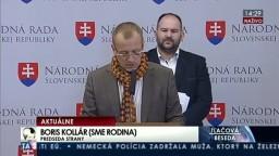 TB B. Kollára a P. Pčolinského, ktorí reagovali na slová prezidenta policajného zboru