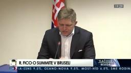 TB R. Fica o summite v Bruseli