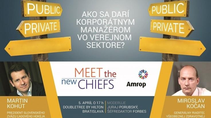 Meet the new chiefs: Ako sa darí korporátnym manažérom vo verejnom sektore?