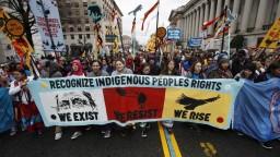 Výstavba ropovodu naruší posvätné územia Indiánov, protestovali vo Washingtone