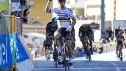 Sagan opäť siahal na etapové víťazstvo, zdolal ho len Gaviria