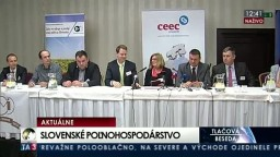 TB G. Matečnej po stretnutí lídrov slovenského poľnohospodárstva