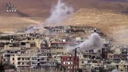 V Damasku hlásia veľké bombové útoky, zomreli desiatky ľudí