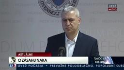 TB P. Hraška o zásahu národnej protizločineckej jednotky v uplynulých dňoch
